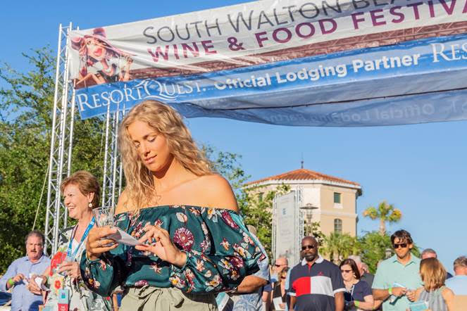 Coastal Culture at Grand Boulevard South Walton Wine and Food Festival